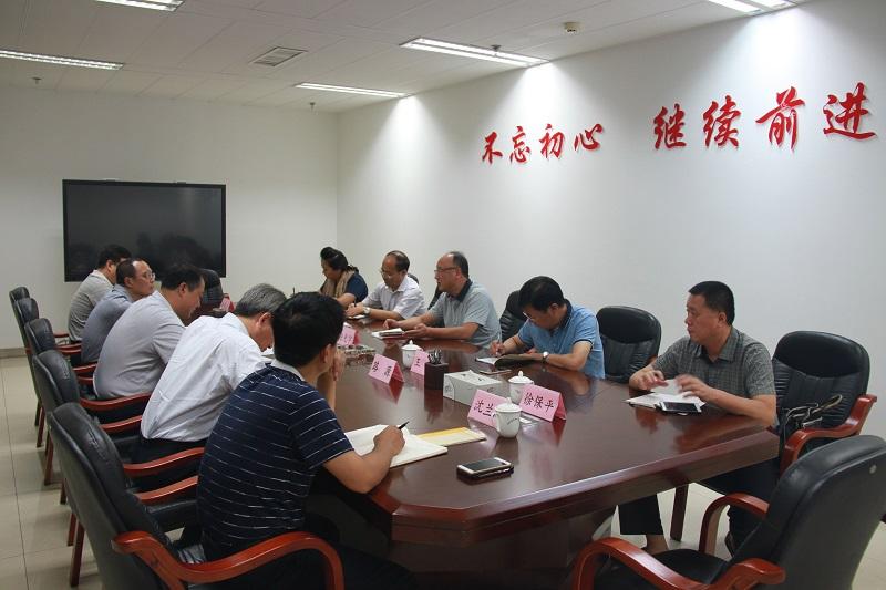 张家口市质监局局长赵光宇一行到我院交流学习